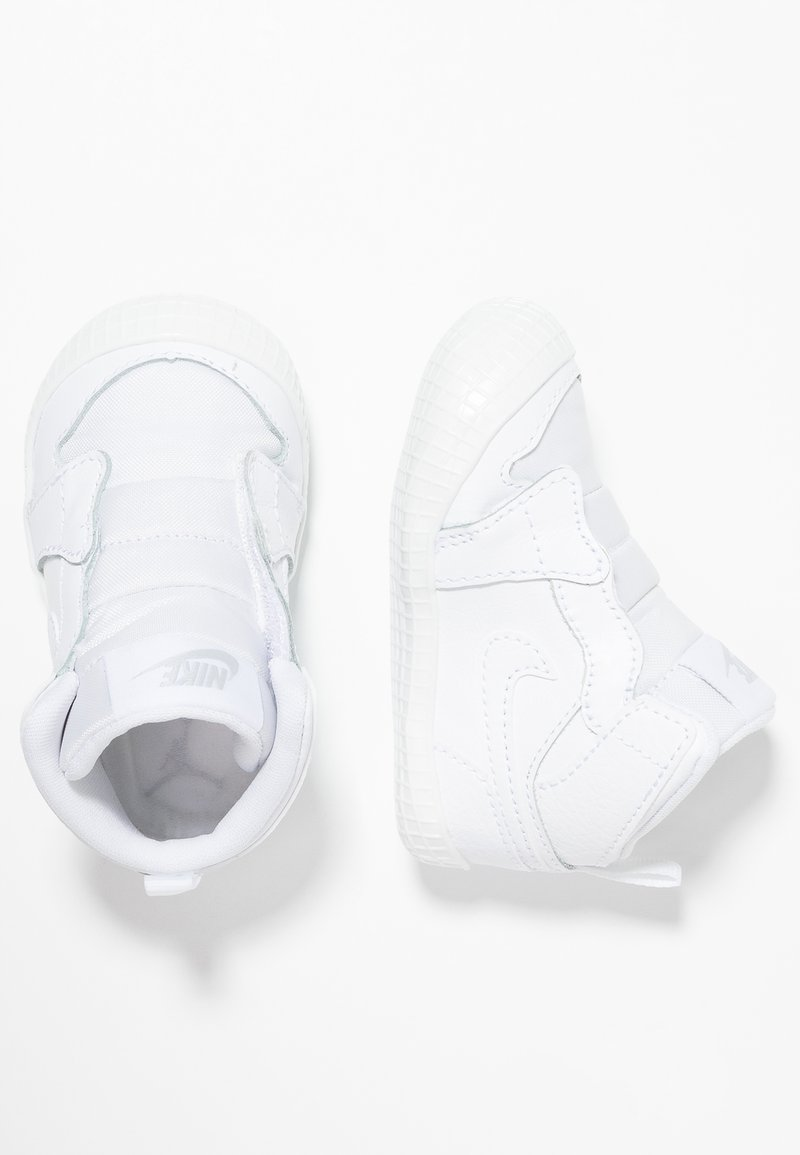 Jordan - 1 CRIB  - High-top trainers - white/pure platinum