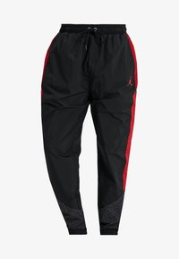 Jordan - DIAMOND CEMENT PANT - Joggebukse - black/gym red - 6