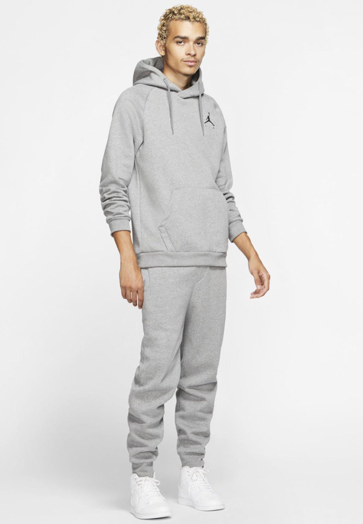 Jordan JUMPMAN - Spodnie treningowe - carbon heather/black
