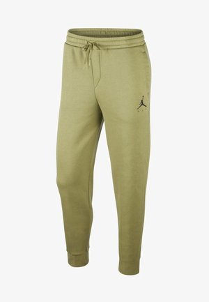JUMPMAN  - Tracksuit bottoms - thermal green