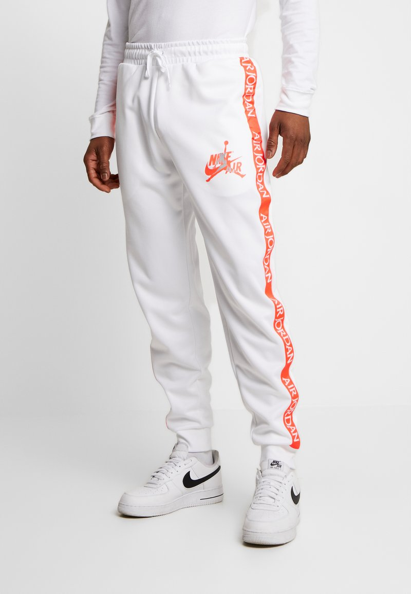 Jordan - TRICOT WARMUP PANT - Pantalones deportivos - white