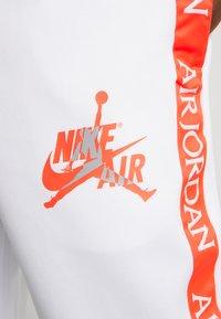 Jordan - TRICOT WARMUP PANT - Pantalones deportivos - white - 4
