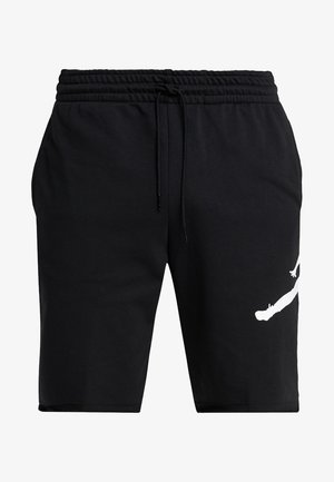 M J JUMPMAN FLC SHORT - Szorty - black/white