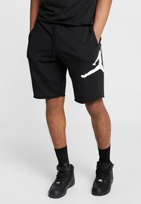 Jordan - M J JUMPMAN FLC SHORT - Shorts - black/white - 0