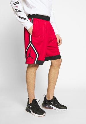 DIAMOND STRIPED - Shorts - gym red/black