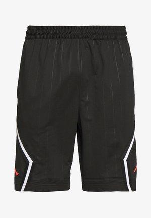 DIAMOND - Shorts - black/infrared