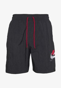 Jordan - JUMPMAN POOLSIDE - Shortsit - white/gym red/black - 0