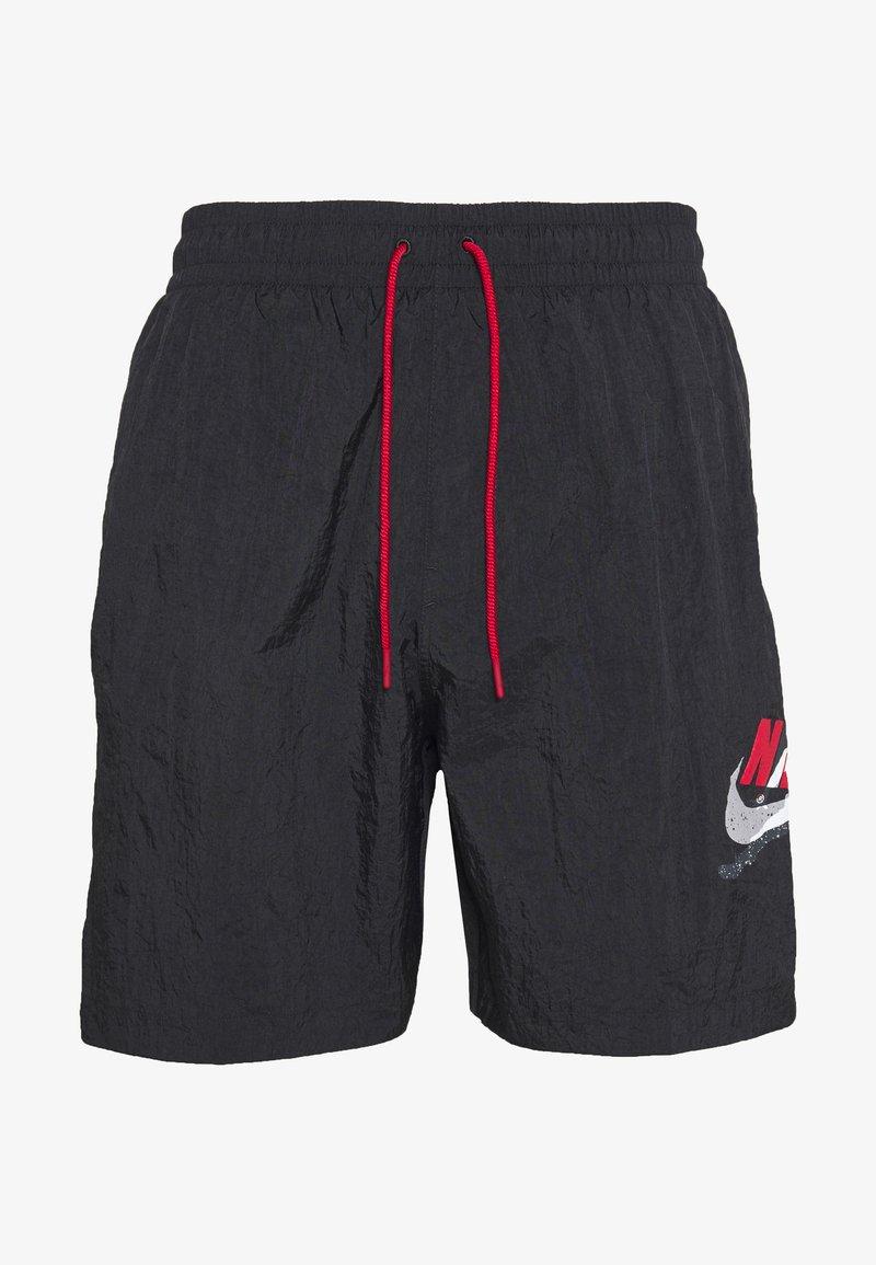 Jordan - JUMPMAN POOLSIDE - Shortsit - white/gym red/black