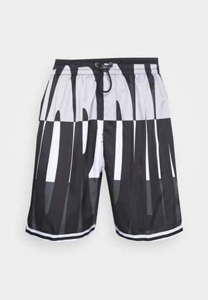 WINGS  POOLSIDE - Shorts - white/black/dark smoke grey