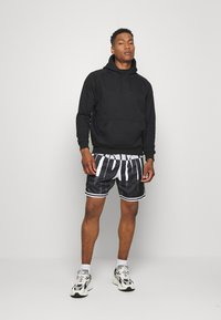 Jordan - WINGS  POOLSIDE - Shorts - white/black/dark smoke grey - 1