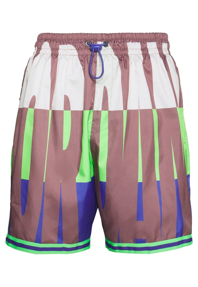 WINGS  POOLSIDE - Shorts - green strike/rush violet/rush violet