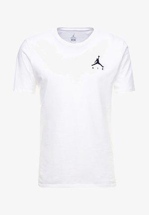 JUMPMAN AIR TEE - T-shirts - white/black