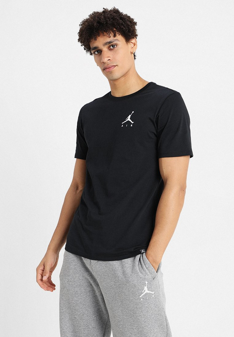 Jordan - JUMPMAN AIR TEE - T-paita - black/white