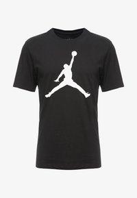 Jordan - CREW - T-shirt med print - black/white - 3