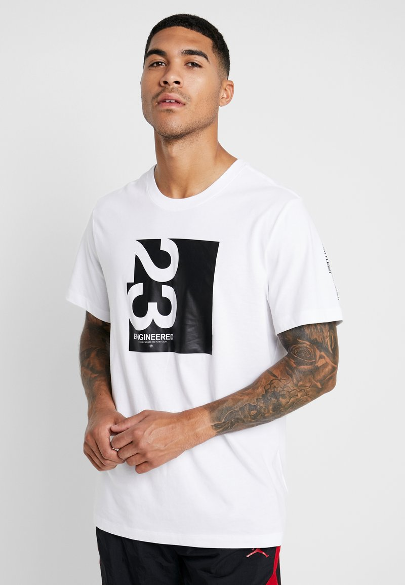 Jordan - Camiseta estampada - white/black