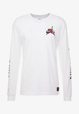 CLASSICS CREW - T-shirt à manches longues - white/black