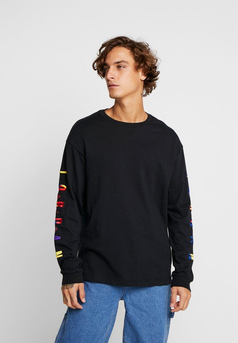 Jordan - RIVALS CREW - Long sleeved top - black