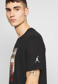 Jordan - CHIMNEY - T-shirt imprimé - black - 4