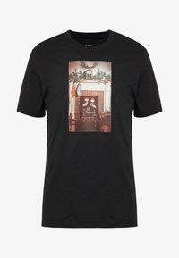 Jordan - CHIMNEY - T-shirt imprimé - black - 3