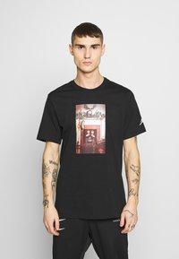 Jordan - CHIMNEY - T-shirt imprimé - black - 0