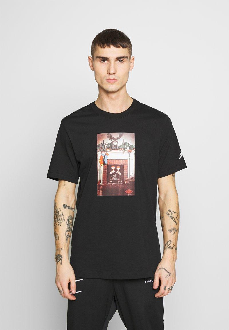 Jordan - CHIMNEY - T-shirt imprimé - black
