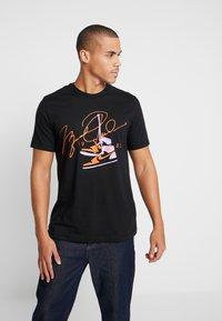 Jordan - T-shirt med print - black - 0