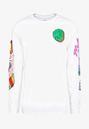 PHOTO REPEAT CREW - Camiseta de manga larga - white