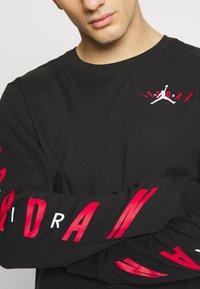 Jordan - AIR JORDAN TEE - Long sleeved top - black - 4