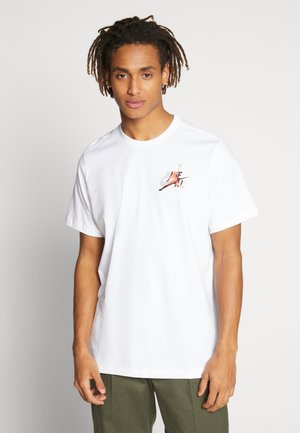 JUMPMAN GRAPHIC TEE - T-shirts med print - white