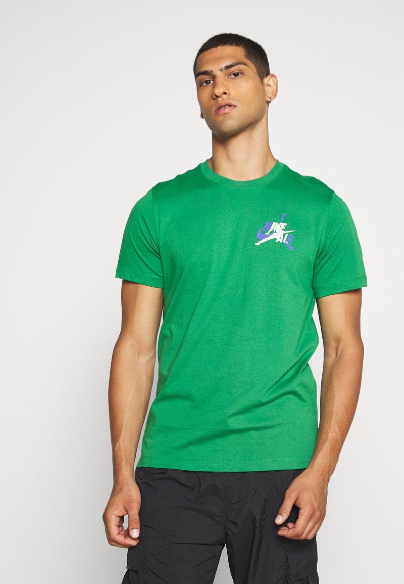 Jordan - JUMPMAN GRAPHIC  - T-shirt z nadrukiem - green