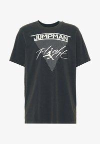 Jordan - JUMPMAN FLIGHT CREW - T-shirt con stampa - black - 4