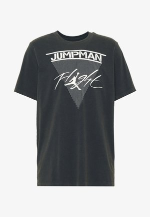 JUMPMAN FLIGHT CREW - T-shirt con stampa - black