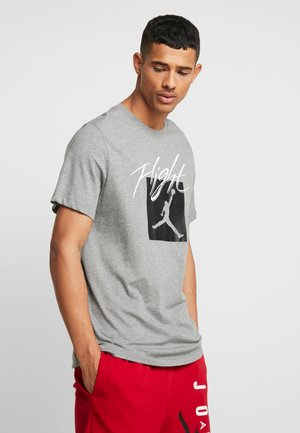 JUMPMAN - Printtipaita - carbon heather