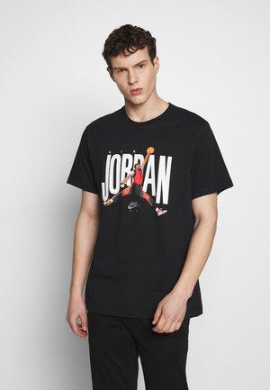 JUMPMAN PHOTO CREW - T-shirt med print - black