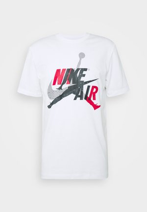 M J JM CLASSICS  - T-shirt print - white/red
