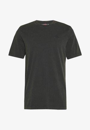 WASH CREW - T-shirt con stampa - black