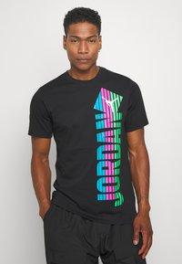 Jordan - Print T-shirt - black - 0