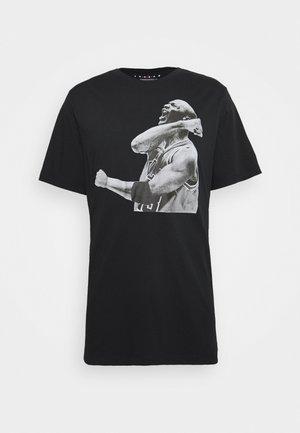 M J PHOTO  - T-shirts print - black