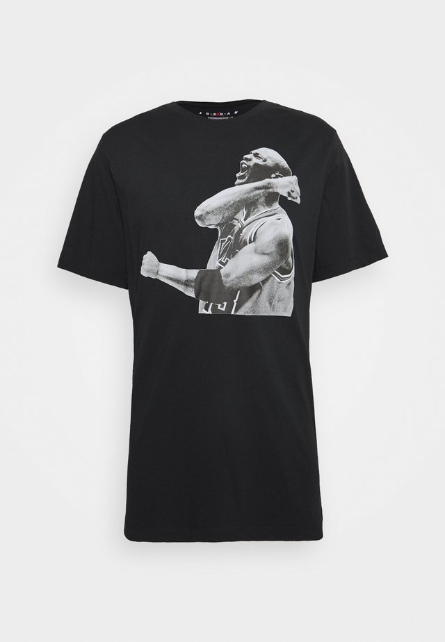 M J PHOTO  - T-Shirt print - black