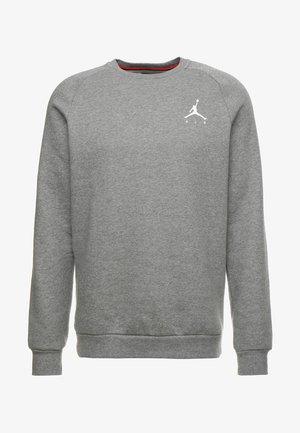 JUMPMAN CREW - Sweatshirt - carbon heather/white