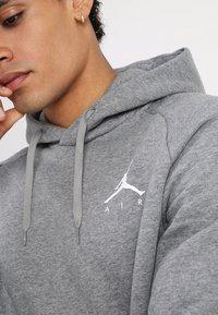 Jordan - JUMPMAN - Hoodie - carbon heather/white - 5