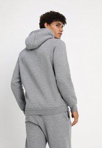 Jordan - JUMPMAN - Hoodie - carbon heather/white - 2