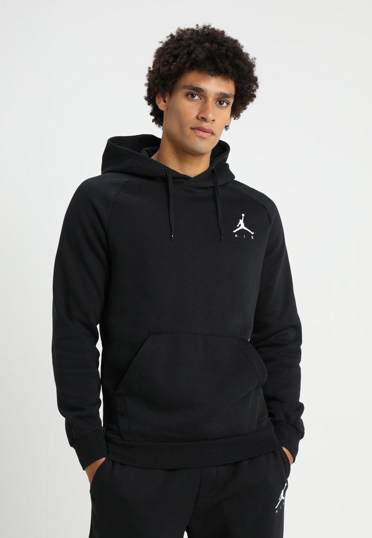 Jordan - JUMPMAN - Jersey con capucha - black/white