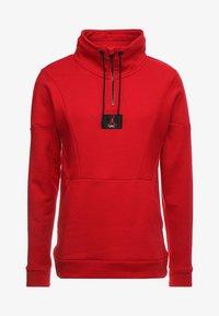 Jordan - FLIGHT LOOP 1/4 ZIP - Sweatshirt - gym red - 4