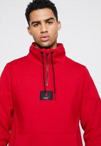 Jordan - FLIGHT LOOP 1/4 ZIP - Sweatshirt - gym red - 5