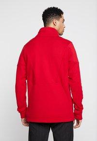 Jordan - FLIGHT LOOP 1/4 ZIP - Sweatshirt - gym red - 2