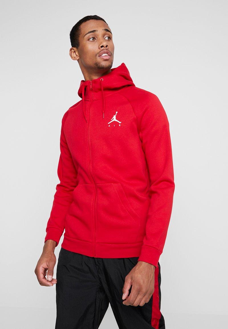 Jordan - JUMPMAN  - Sudadera con cremallera - gym red/white