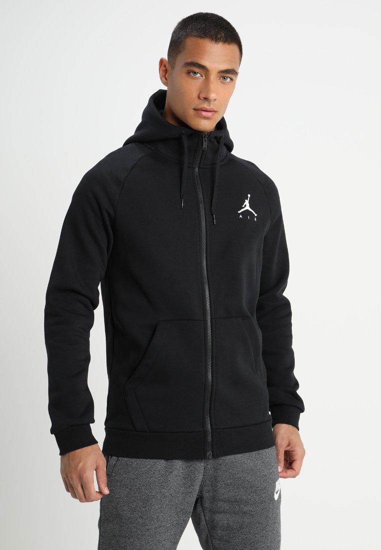 Jordan - JUMPMAN  - Zip-up hoodie - black/white