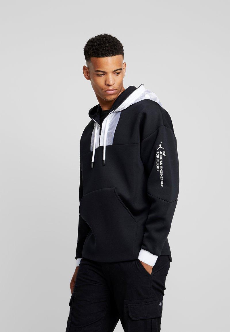Jordan - ZIP HOODIE - Zip-up hoodie - black/white