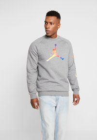 Jordan - CREW - Sweatshirt - carbon heather - 0